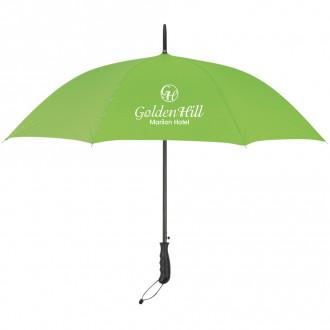 46-inch Arc Stripe Accent Panel Umbrella