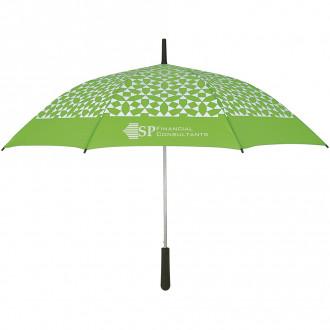 46-Inch Arc Geometric Pattern Umbrella