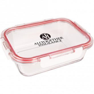 Fresh Prep Square Glasses Food Containers