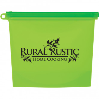 Reusable Food Bags With Plastic Slider