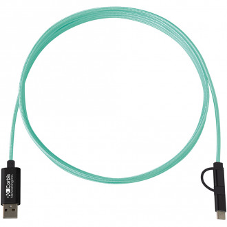 3-In-1 10 Ft. Braided Charging Cables