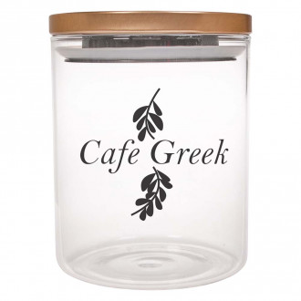 26 Oz. Glasses Containers With Stainless Steel Lid