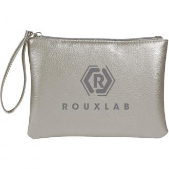Metallic Divine Cosmetic Bags