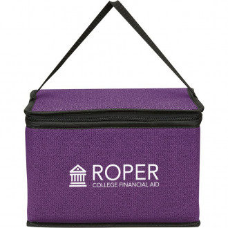 Heathered Non-Woven Coolers Lunch Bags