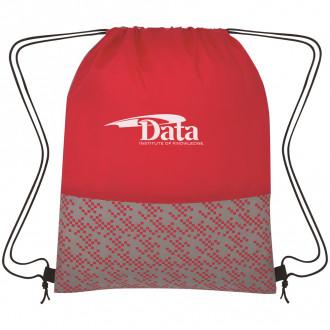 Bitmap Drawstring Backpacks