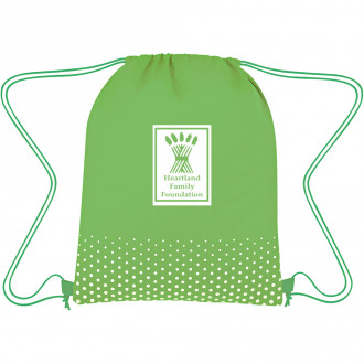 Connect The Dots Non-Woven Drawstring Bags
