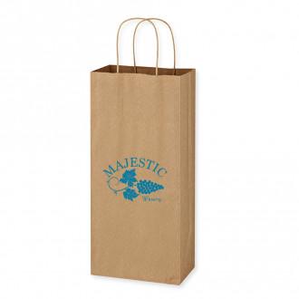Kraft Paper Brown Wine Bags - 5.25