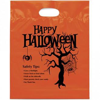 Happy Halloween Die Cut Bags - 12W x 3 x 15H