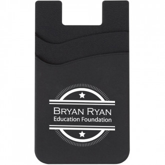 Dual Pocket Silicone Phone Wallets