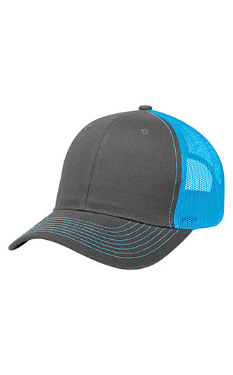 Cotton Twill Mesh Back Caps