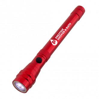 Telescopic Aluminum Flashlights with Magnet