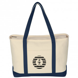 Large Heavy Cotton Canvas Boat Totes