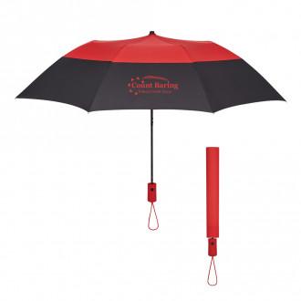 46-Inch Arc Color Top Folding Umbrella