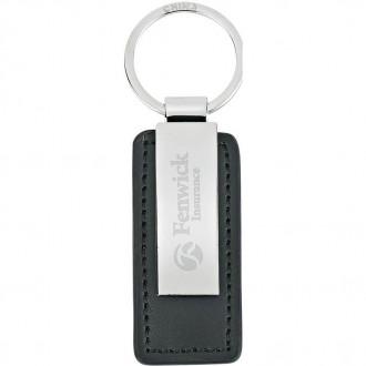 Leatherette Key Tags