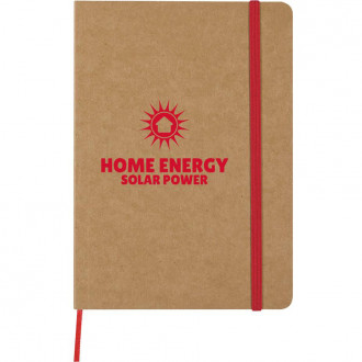 Eco -Inspired Strap Notebooks