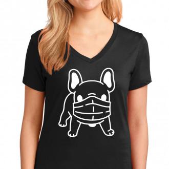 Dog Mask T-Shirt Black