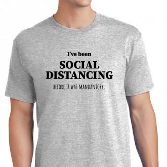 Social Distancing Before it was Mandantory - M