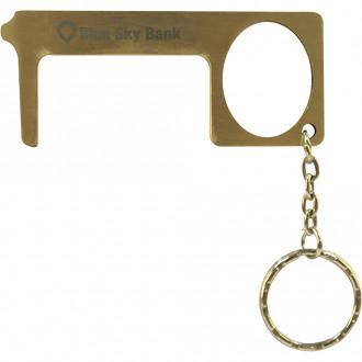 Brass Door Opener Touch-Free Tool