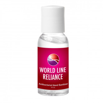 1oz. Hand Sanitizer Bottle