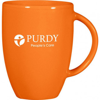 12 oz. Europa Mugs - Orange