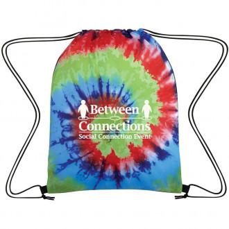 Tie-Dye Drawstring Bags