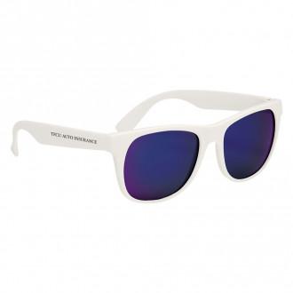 Rubberized Mirror Sunglasses