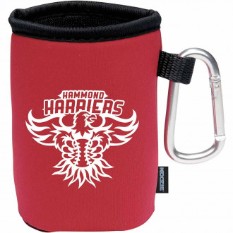 Koozie Collapsible Can Koolers with Carabiner