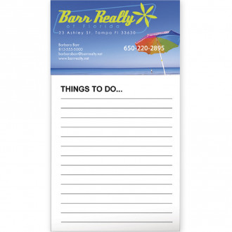 BIC Business Card Magnets with 50 sheet notepad