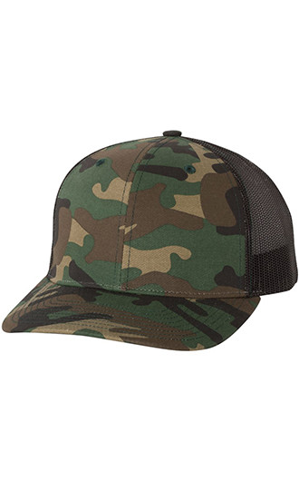 Richardson - Patterned Snapback Trucker Caps