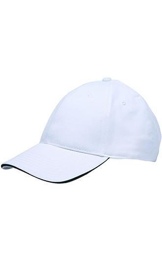 Bayside 100% Washed Cotton Unstructured Sandwich Caps