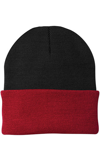Port & Company - Knit Caps (Two Tone)