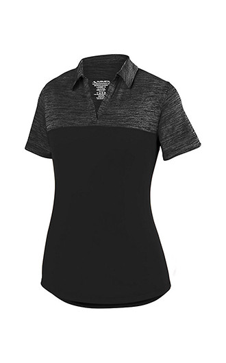 Augusta Sportswear - Women's Shadow Tonal Heather Sport Shirt