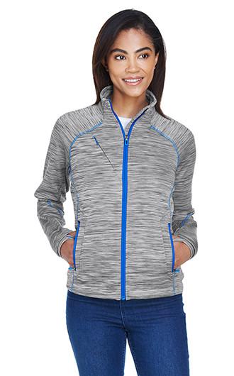 North End Women's Flux Melange Bonded Fleece Jackets