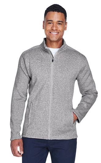 Devon & Jones Men's Bristol Full Zip Sweater Fleece Jackets