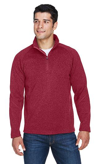 Devon & Jones Adult Bristol Sweater Fleece Quarter Zip