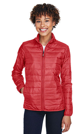 Core 365 Women's Prevail Packable Puffer Jacket