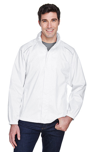 Core 365 Mens Climate Seam-Sealed Lightweight Variegated Ripstop