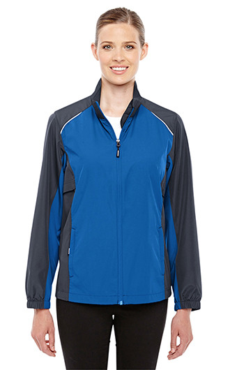 Core 365 Women's Stratus Colorblock Lightweight Jackets