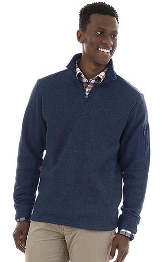 Men's Heathered Fleece Pullover