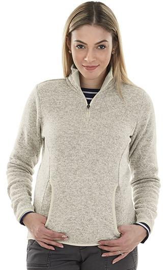 Women's Heathered Fleece Pullover