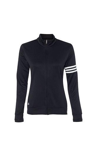 Adidas - Women's 3-Stripes French Terry Full Zip Jacket