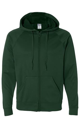 JERZEES - Dri-Power Sport Hooded Full Zip Sweatshirt