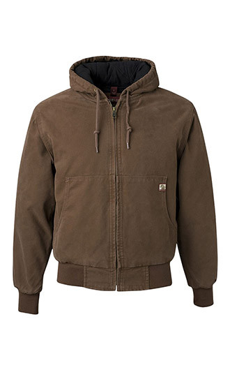 DRI DUCK - Cheyenne Boulder Cloth Hooded Jacket with Tricot Quil