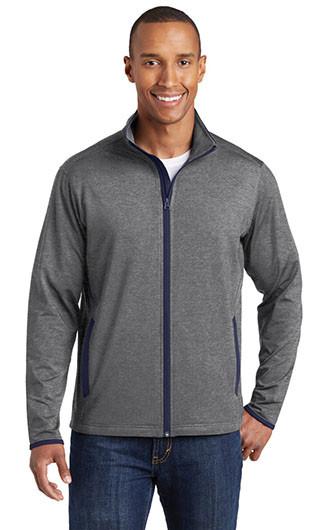 Sport-Tek Sport-Wick Stretch Contrast Full Zip Jackets