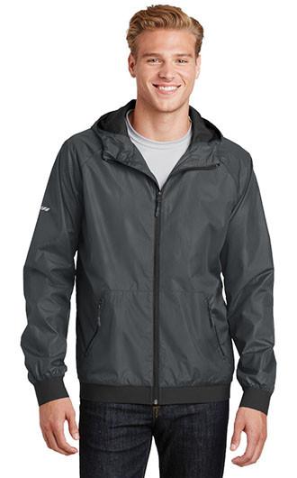 Sport-Tek Embossed Hooded Wind Jackets