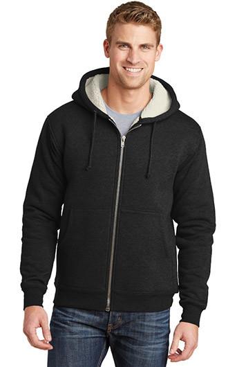 CornerStone Heavyweight Sherpa-Lined Hooded Fleece Jacket