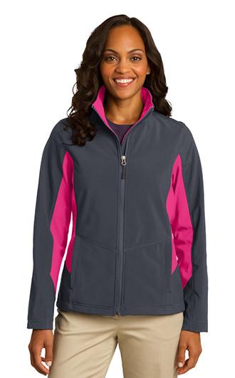 Port Authority Women's Core Colorblock Soft Shell Jackets