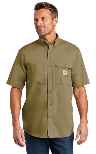 Carhartt Force Ridgefield Solid Short Sleeve Shirts