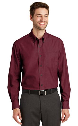 Port Authority Crosshatch Easy Care Shirt