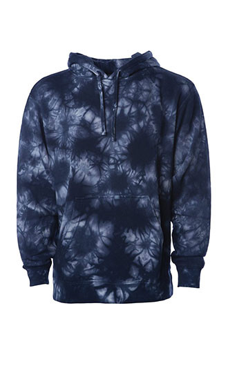 Independent Trading Co Midweight Tie-Dye Hooded Sweatshirts